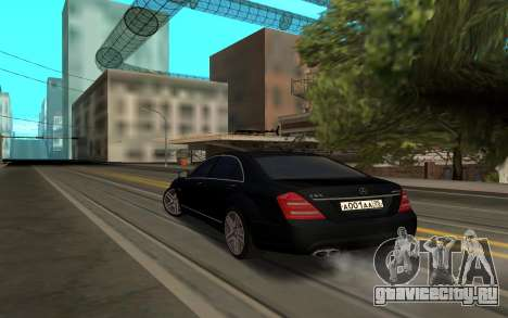 Mercedes-Benz S65 AMG для GTA San Andreas вид слева