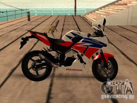 Honda CBR300R V.1 для GTA San Andreas вид сзади