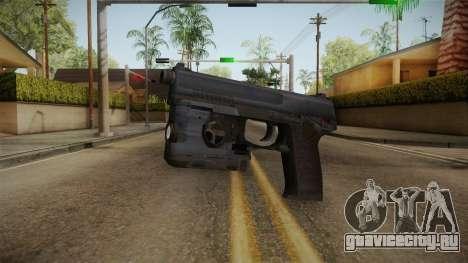 Metal Gear Solid 4 - MK23 Socom для GTA San Andreas второй скриншот