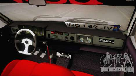 Dacia 1310 TX Low для GTA San Andreas вид изнутри