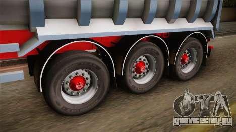 Trailer Dumper v1 для GTA San Andreas вид сзади