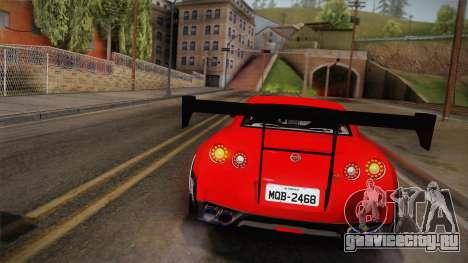 Nissan GT-R SR PRO для GTA San Andreas вид сбоку