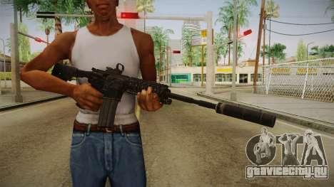 CoD 4: MW - M4A1 Remastered v1 для GTA San Andreas третий скриншот