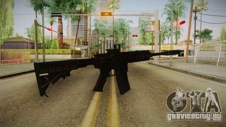 CoD 4: MW - M4A1 Remastered v1 для GTA San Andreas второй скриншот