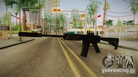 CoD 4: MW - M4A1 Remastered v1 для GTA San Andreas