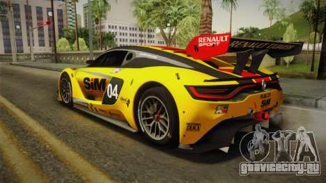 Renault Sport R.S.01 PJ1 для GTA San Andreas двигатель