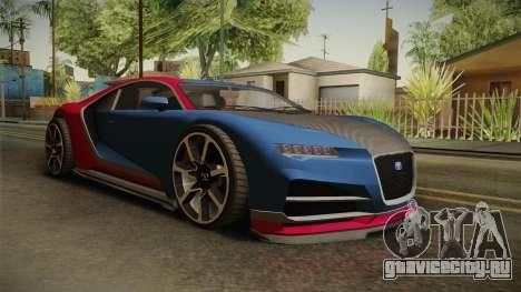 GTA 5 Truffade Nero для GTA San Andreas вид справа
