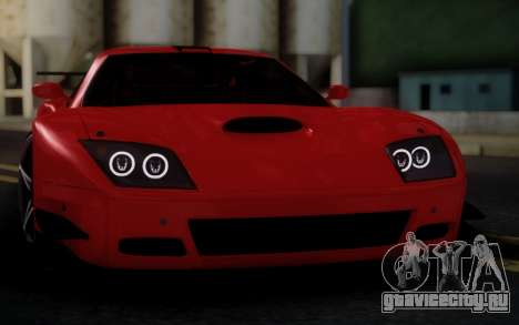 Ferrari 575 GTC для GTA San Andreas вид справа