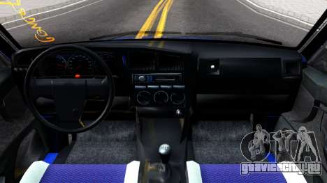Volkswagen Passat B4 Gl 1999 для GTA San Andreas вид изнутри