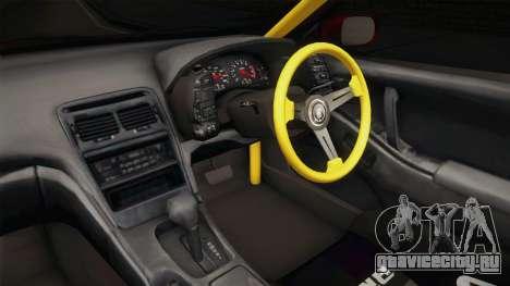 Nissan 300ZX Drift для GTA San Andreas вид изнутри