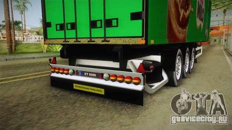 Nestle Milo Trailer для GTA San Andreas вид изнутри