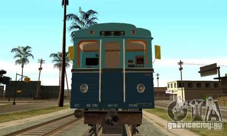 ST_M Метровагон типа Еж для GTA San Andreas вид слева