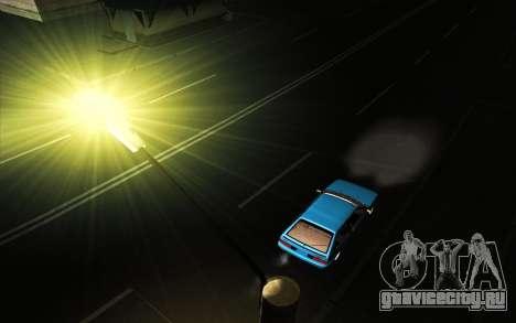 VAZ 21083i  American classic для GTA San Andreas вид изнутри