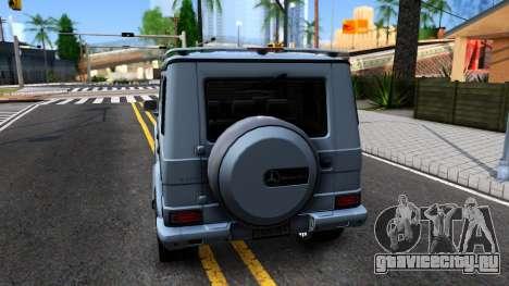 Mercedes-Benz G500 для GTA San Andreas вид сзади слева