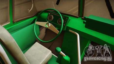 1114 (Bus) Recortado a Camion для GTA San Andreas вид изнутри
