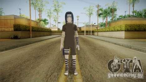 NUNS4 - Sasuke Genin Black Clothes Normal Eyes для GTA San Andreas второй скриншот