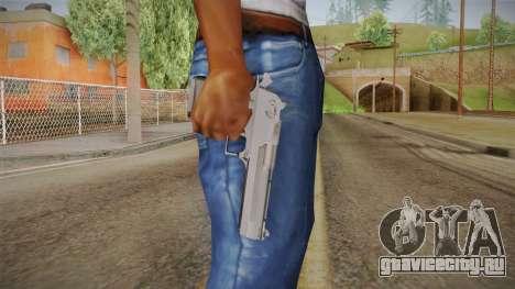 Desert Eagle 50 AE Black для GTA San Andreas третий скриншот