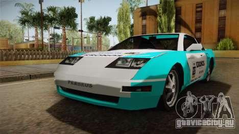 ETR1 EuR0S Blue для GTA San Andreas вид справа