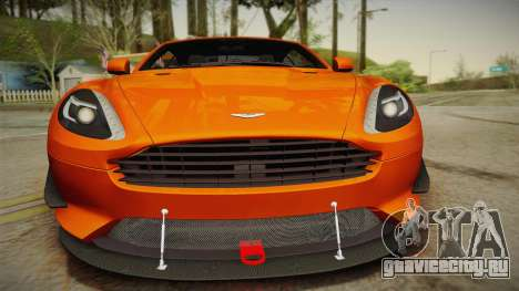 Aston Martin Virage 2012 для GTA San Andreas вид справа