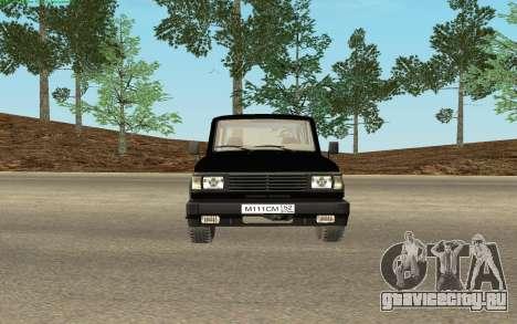 УАЗ 3170 ФСБ России v0.1 для GTA San Andreas вид справа