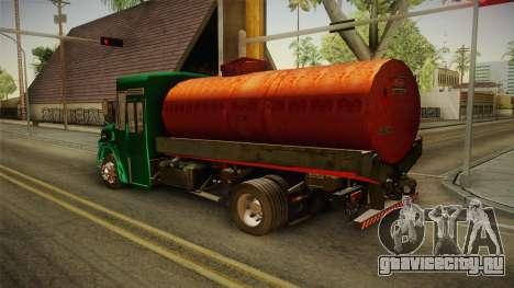 1114 (Bus) Recortado a Camion для GTA San Andreas вид слева