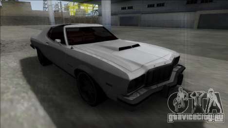 1975 Ford Gran Torino для GTA San Andreas вид сзади