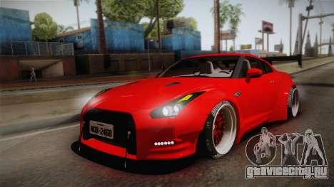 Nissan GT-R SR PRO для GTA San Andreas