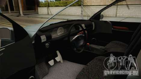 Opel Omega B для GTA San Andreas вид изнутри
