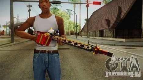 Vindi Xmas Weapon 1 для GTA San Andreas