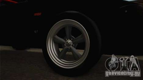 Nissan Skyline R33 Drag для GTA San Andreas вид сзади