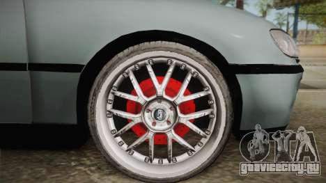 Opel Omega B для GTA San Andreas вид сзади слева