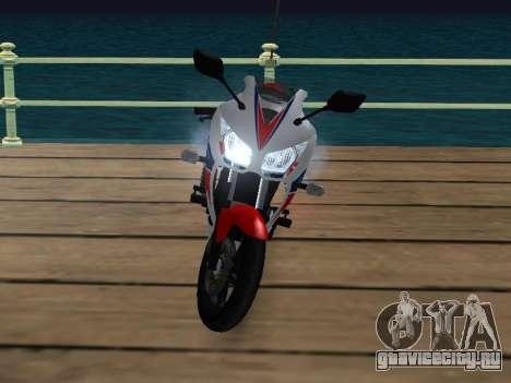 Honda CBR300R V.1 для GTA San Andreas вид сзади слева