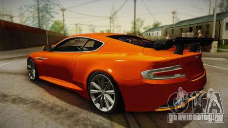 Aston Martin Virage 2012 для GTA San Andreas вид слева