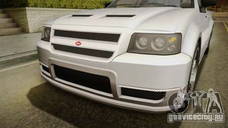 GTA 5 Vapid Contender 4 (5) IVF для GTA San Andreas вид сбоку