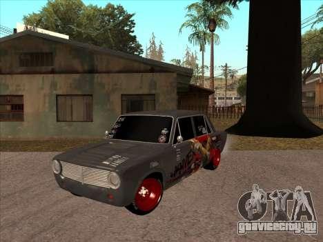 2101 БПАН для GTA San Andreas вид сзади слева