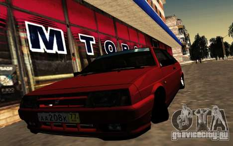 VAZ 21083i  American classic для GTA San Andreas вид слева