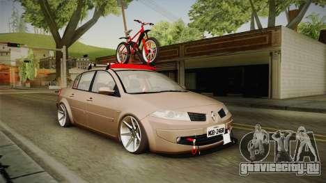 Renault Megane Sedan Stance для GTA San Andreas вид справа