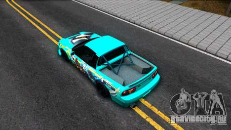 Nissan 200SX Pickup для GTA San Andreas вид сзади