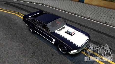 Ford Mustang Boss 557 для GTA San Andreas вид справа