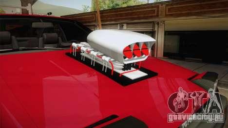 Toyota Corolla GT-S Monster Truck для GTA San Andreas вид сзади