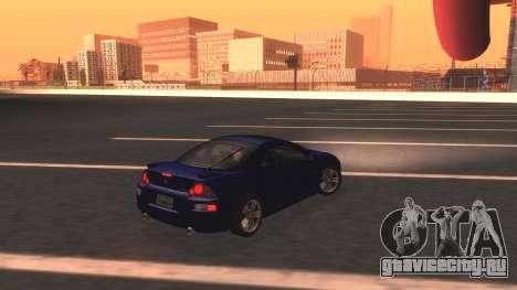 2003 Mitsubishi Eclipse GTS Mk.III для GTA San Andreas вид слева
