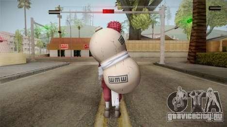 Gaara Red Body Suit для GTA San Andreas третий скриншот