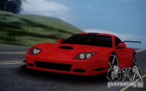 Ferrari 575 GTC для GTA San Andreas вид сзади слева