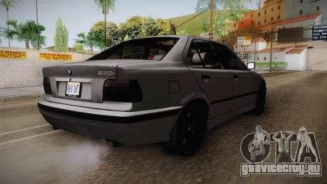 BMW 320i E36 для GTA San Andreas вид слева