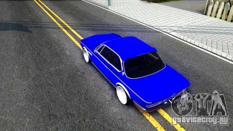 BMW 3.0 CSL для GTA San Andreas вид сзади