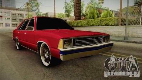 Chevrolet Malibu 1980 v2 для GTA San Andreas