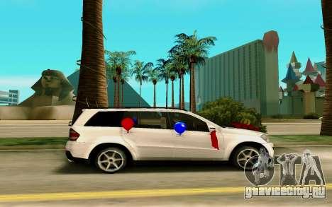 Mercedes-Benz GL для GTA San Andreas вид слева