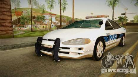 Dodge Intrepid 2001 El Quebrados Police для GTA San Andreas