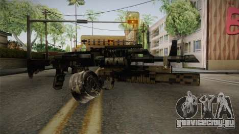 AK-47 with M203 для GTA San Andreas второй скриншот