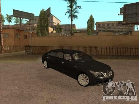 BMW M5 Limousine для GTA San Andreas вид слева